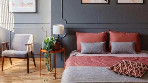 hotel chique slaapkamer