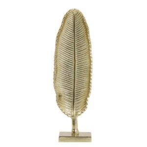 Ornament leaf goud