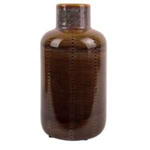 Vaas bottle bruin large