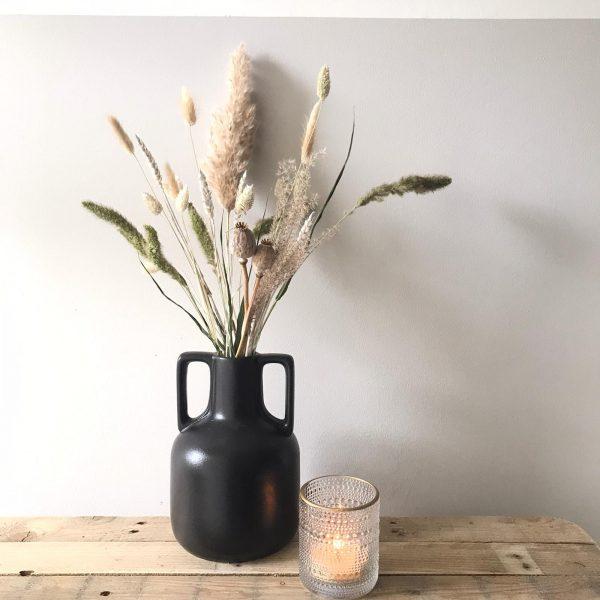 Keramieken tulpen vaas