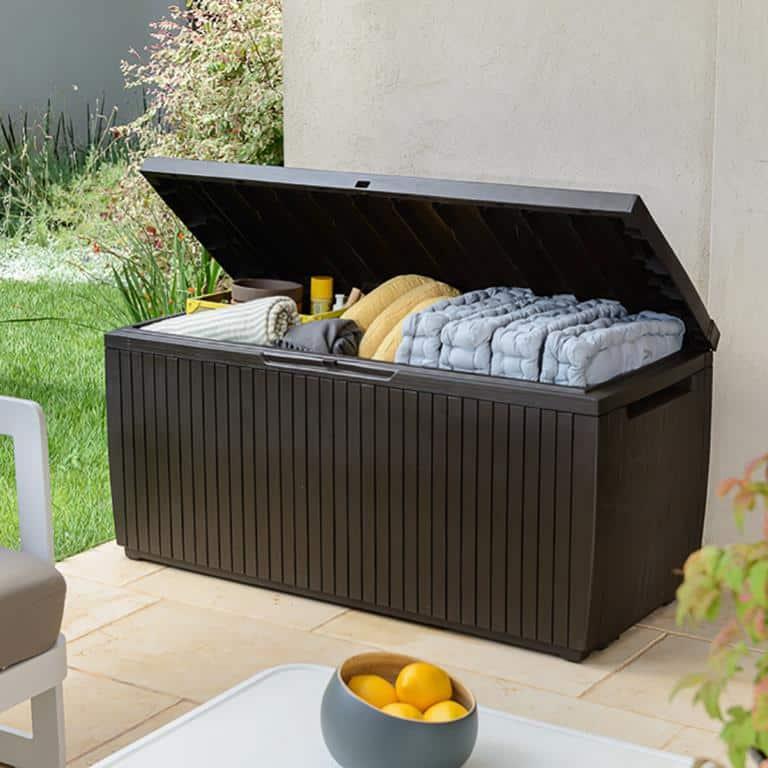 opberbox voor je tuinkussens