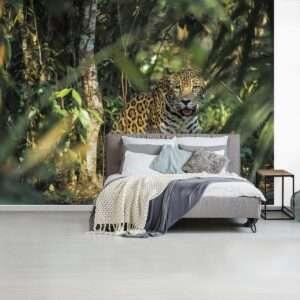 fotobehang jaguar
