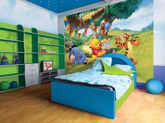 Kinderkamer behang