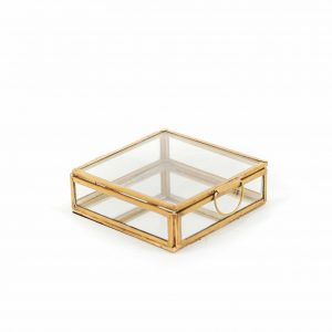 Glazenbox Goud