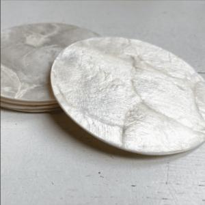 schelp plate wit